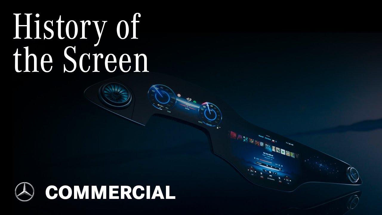 The Mercedes-Benz EQS Hyperscreen   History of the Screen