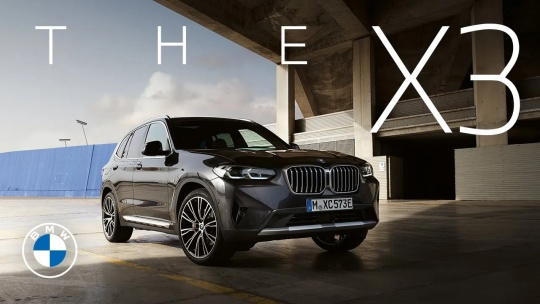 Choose your game. The new BMW X3.