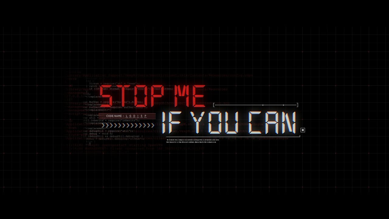 Stop Me If You Can | Full ver.