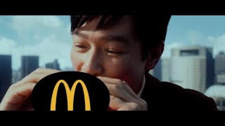 堺雅人拍了一条犯规的汉堡广告